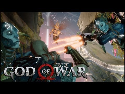 FLYING NUISANCE AND GENUINE RAGE | God of War Gameplay Playthrough Walkthrough PS4 #6