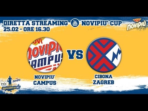 [Novipiù Europe Cup 2017 - Group A] Novipiù Campus - Cibona