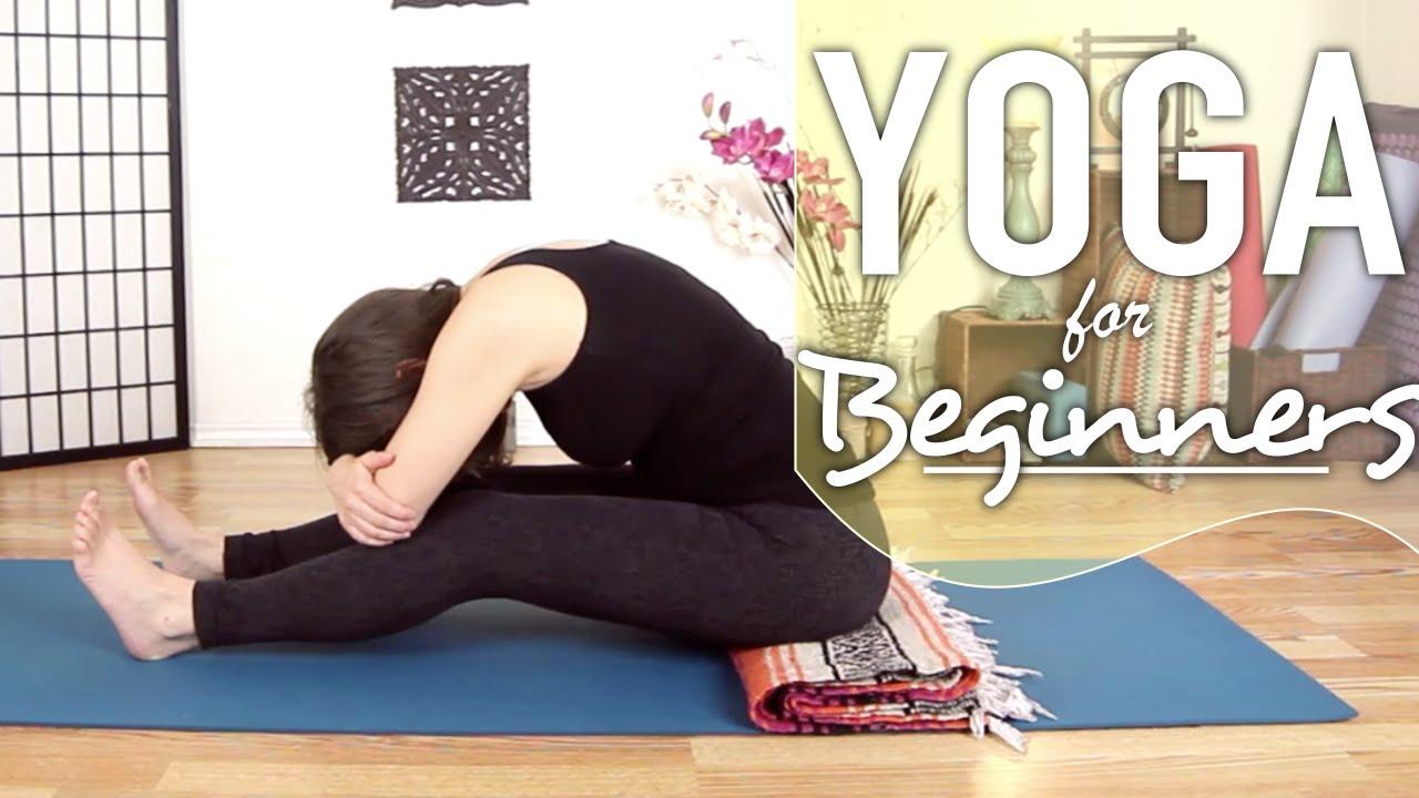 Bedtime Yoga - Easy Night Time Sleep Yoga - YouTube