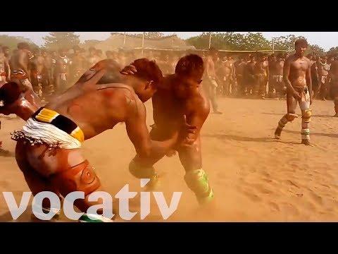 Brazil's Huka-Huka Wrestlers Are Olympic Bound