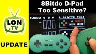 8bitdo SN30 GP Followup: Directional Pad Too Sensitive? Errant Diagonals Tested