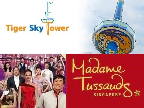 Singapore Trip Part 3 | Madame Tussauds & Tiger Sky Tower |