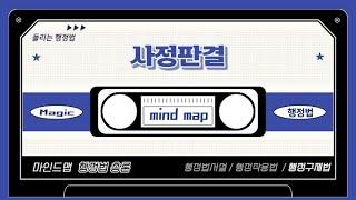 77 마인드맵 / 사정판결(행정구제법).ver2013_…