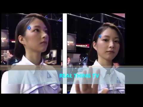 Life like android' at a Tokyo gaming conference baffles social media