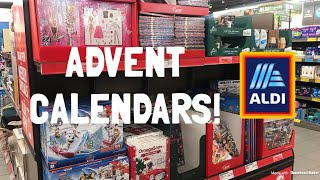 CHRISTMAS FINDS AT ALDI! 2019 Advent Calendars, Candy & Cookies | Shop With Me Vlog