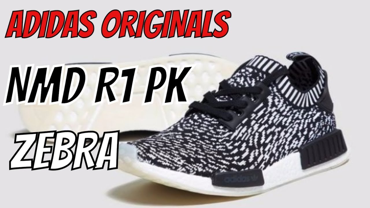 ab9c53d3ca6cd ADIDAS ORIGINALS NMD R1 PRIMEKNIT RUNNER BOOST ZEBRA  SASHIKO PACK  REVIEW