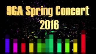 9GA Spring Concert 2016
