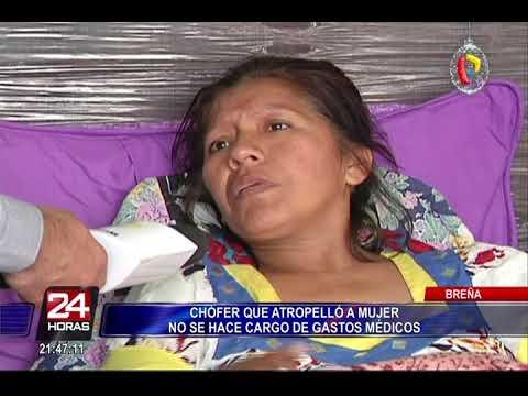 La atropelló un auto fuera de control y se salvó de milagro
