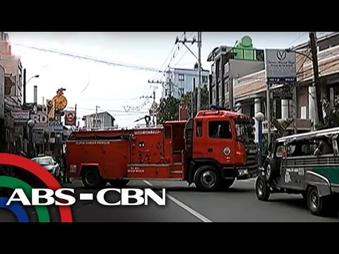 TV Patrol: Trak ng bumbero, naantala dahil sa nag-counterflow na jeepney