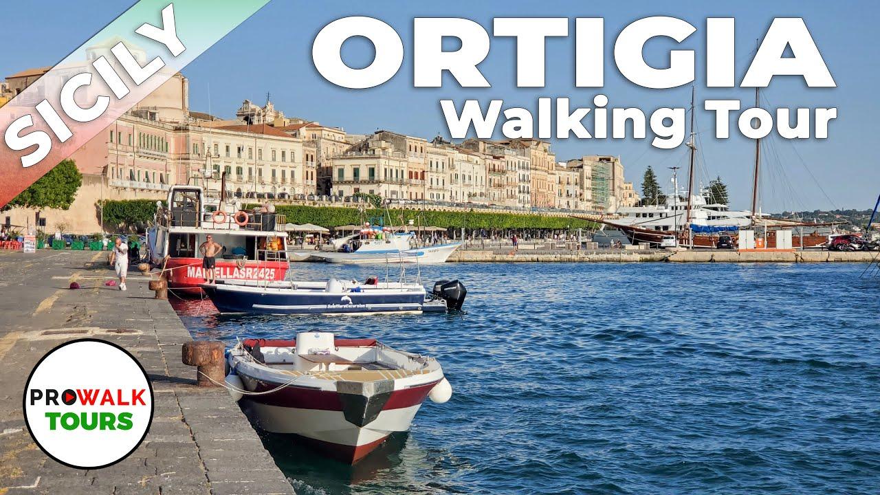 Ortigia, Sicily Walking Tour - 4K - Prowalk Tours