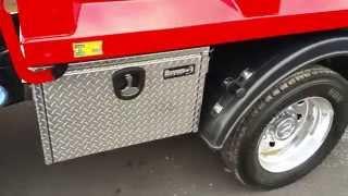 New upfitted Ram Dump Truck