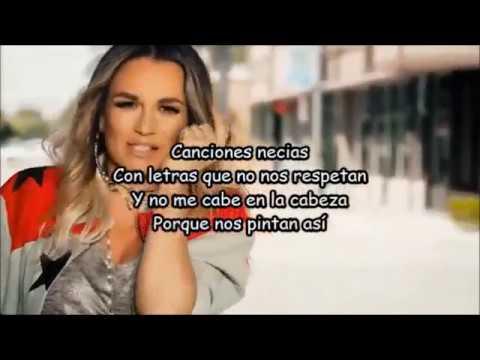 María José ft Ivy Queen | Las que se ponen bien la falda | Letra