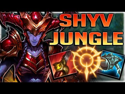 BEST JUNGLER FOR SEASON 8!! SHYVANA IS UNSTOPPABLE! SHYVANA JUNGLE GAMEPLAY - League of Legends