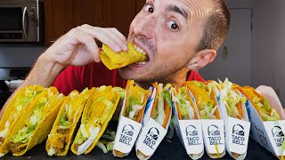12 TACO BELL PARTY PACK CHALLENGE  MUKBANG