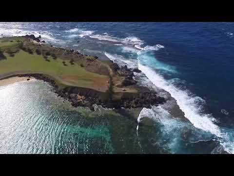 Norfolk Island Drone Cinematography