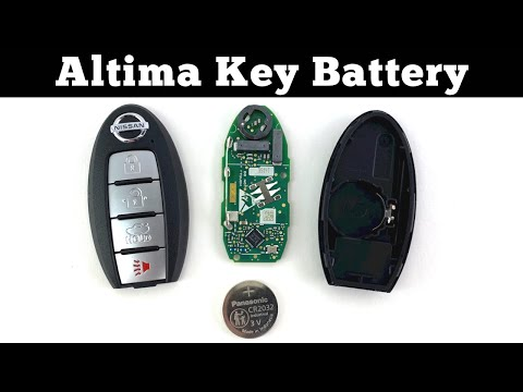 How To Change 2019 – 2021 Nissan Altima Remote Key Fob Battery – Remove Replace Replacement Tutorial
