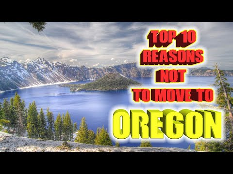 Top 10 reasons NOT to move to Oregon.