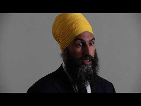 Five questions with NDP leader, Jagmeet Singh
