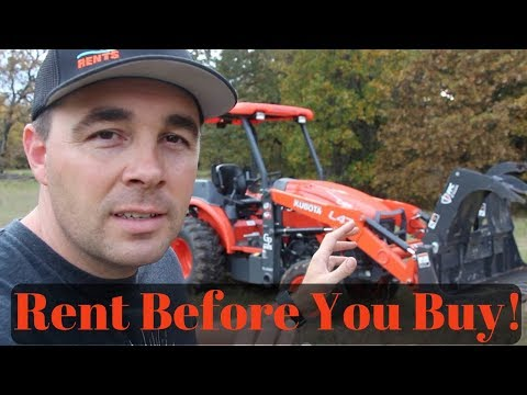 3 Reasons Why You Should Rent Equipment!