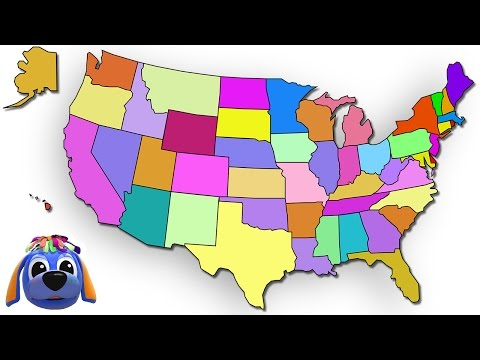 50 States That Rhyme | Plus Lots More Nursery Rhymes | From Raggs TV