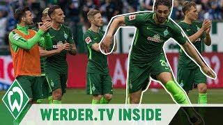 Drei Punkte für Max Kruse, Ishak Belfodil will kämpfen | WERDER.TV Inside vor Wolfsburg