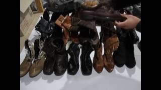Обувь женская осень зима секонд хенд купить оптом(Отличная женская обувь осень зима оптом от 20 кг с доставкой по Украине., 2016-09-05T07:54:10.000Z)