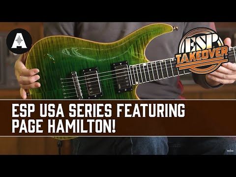 ESP USA Series ft. Page Hamilton (Helmet) | ESP Social Takeover Weekend