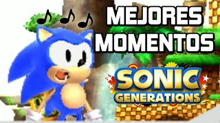 SONIC GENERATIONS 3DS - Mejores Momentos