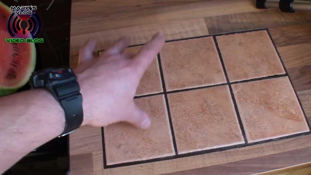 Marks Platte In Der Arbeitsplatte Zuschauerfrage An MMolterVideo - Küchenarbeitsplatte aus fliesen