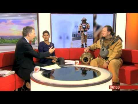 Lloyd Scott on BBC Breakfast 06/10/2013 (06:55 slot)