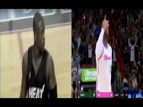 Dwyane Wade First Miami Heat Baskets| 2003/2018
