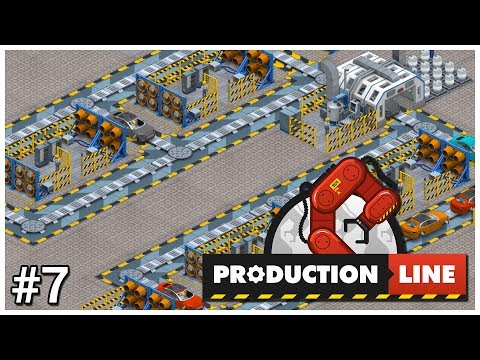 Production Line [Early Access] - #7 - Techno-Car - Let's Play / Gameplay / Construction