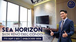 Sea Horizon $65k Renovation Executive Condo With Unblocked View At Pasir Ris [EXCLUSIVE LISTING]