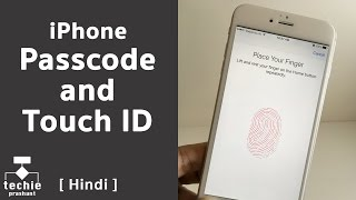 How To Set Touch ID and Passcode in iPhone? Techie Prashant | HINDI