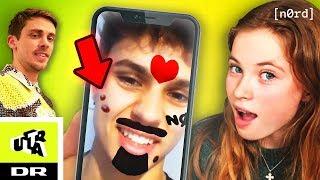 Sådan laver du dit eget Face Filter: Robin Rasmussen får bumse-face | NØRD