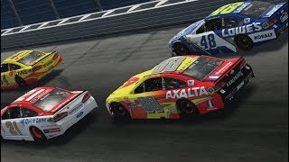 Dale Earnhardt Jr. At Daytona - Nascar Heat 2 Gameplay