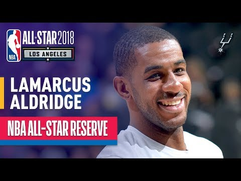 LaMarcus Aldridge All-Star Reserve | Best Highlights 2017-2018