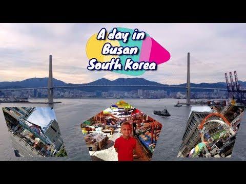 Busan South Korea walking tour