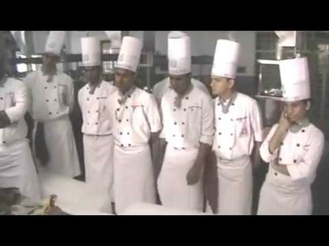Buinessman at culinary academy of india