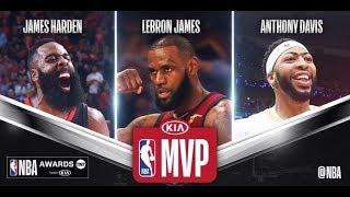 Lebron, Harden, & Anthony Davis Battle it out for MVP Award!!!