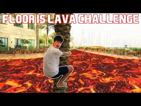 Generate FLOOR IS LAVA CHALLENGE AT A 5 STAR HOTEL *KICKED OUT* Screenshots