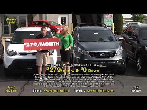 Fuccillo Kia Clay Sportage ad for July 2014