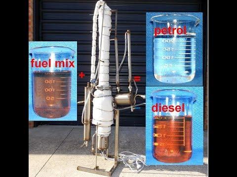 Home petroleum refinery (Petrol recovery)