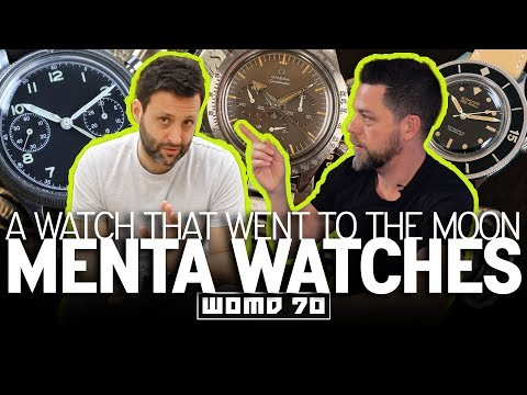 WOMD 70 | Rare Blancpain & Omega Vintage Watches W/ Adam Golden Of Menta Watches