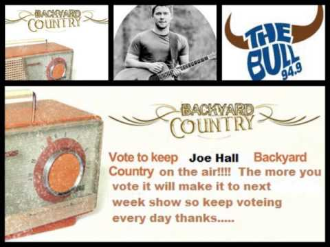 94.9 The Bull Backyard Country joe hall luv you on backyard country on 94.9 the bull - youtube