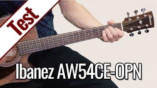 Ibanez AW54CE-OPN | Gitarrentest