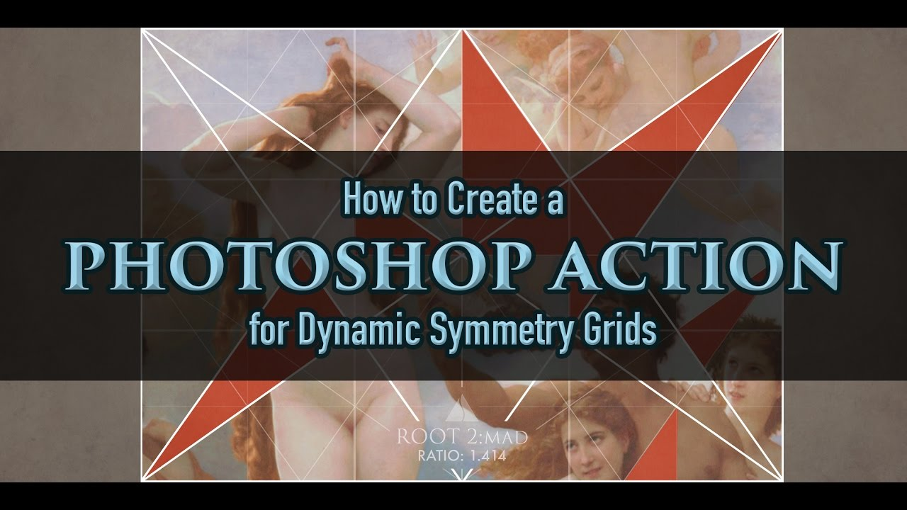 how to add grids to photoshop