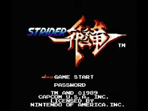 Strider (NES) Music - Red Dragon Theme
