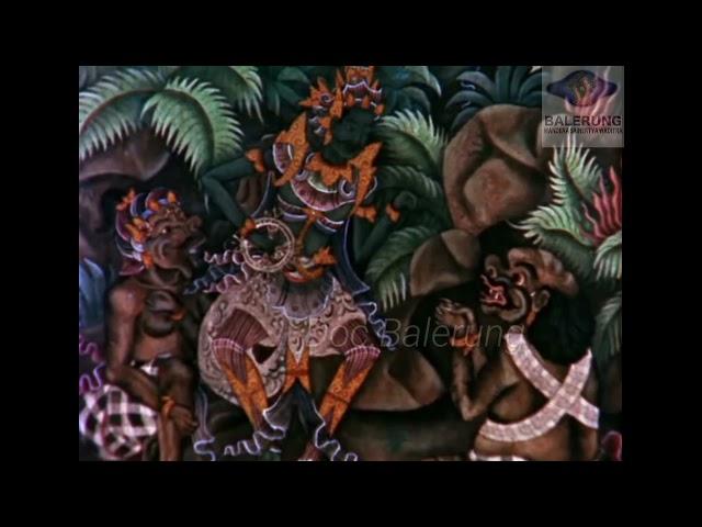 Baris Tunggal A.A Gde Oka Dalem The Miracle of Bali BBC TV 1969 Puri Kaleran Pusaka Peliatan