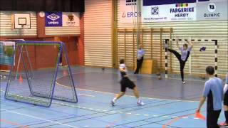 Ball rebounder TRAININGSPARTNER for handball from fotballpartner.no